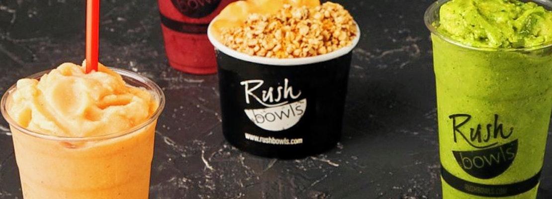 Rush Bowls debuts new location in Memorial Park