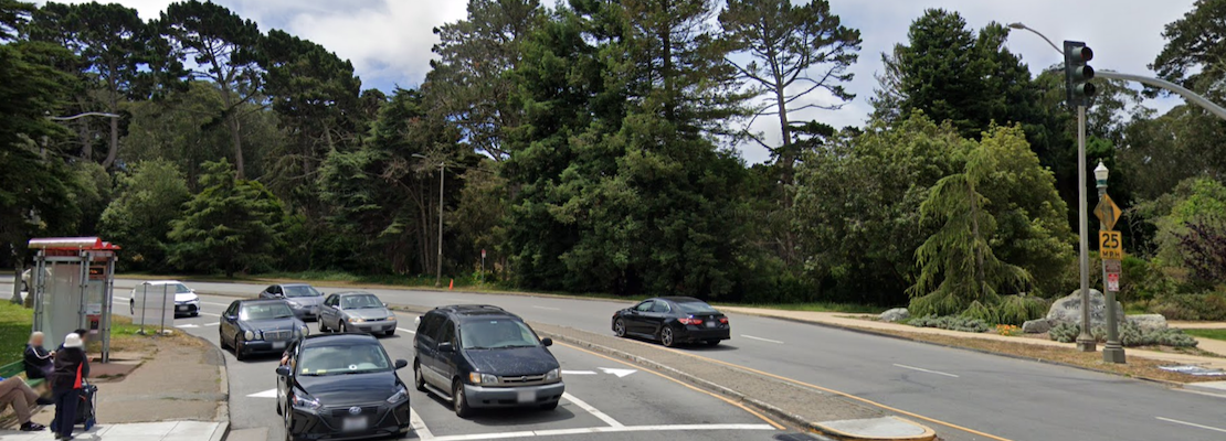 Motorcyclist dies after collision with SUV in Golden Gate Park