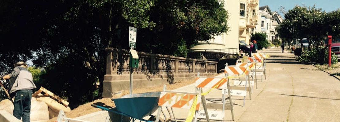 Work To Renovate Adah's Stairway Is Underway