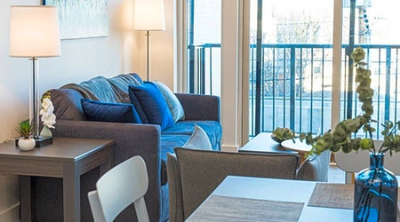 What apartments will $1,900 rent you in Downtown, this month?