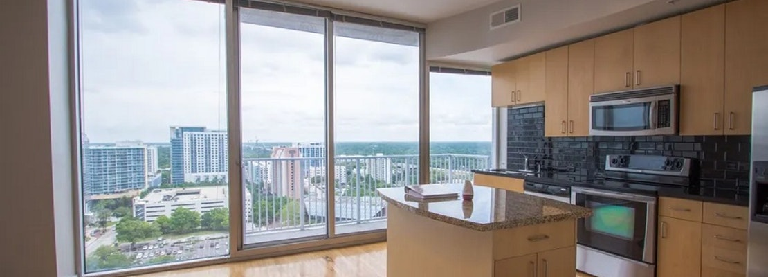 What apartments will $1,600 rent you in Central Business District, today?