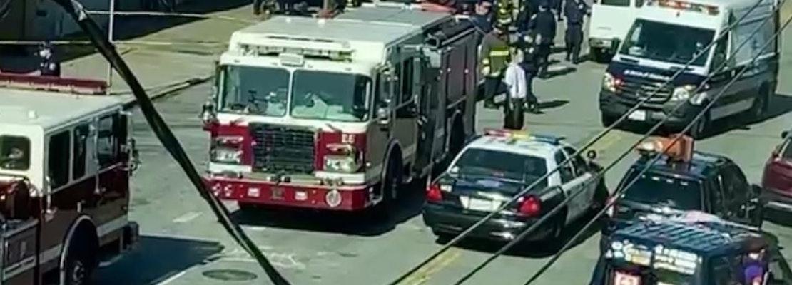 Unhoused person sustains severe burns in Castro encampment fire