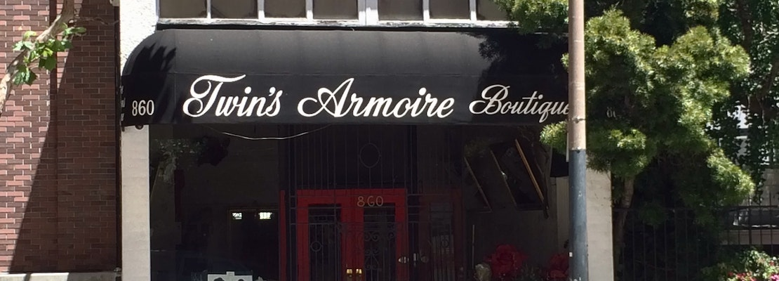 Twin's Armoire Boutique appears closed after 51 years in Nob Hill