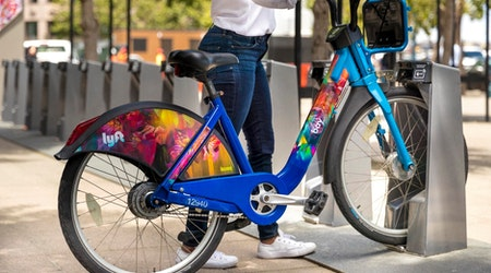 3 Bay Wheels bikeshare stations on the way to the Upper Haight