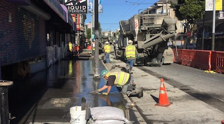 With construction ongoing during shelter in place, Upper Haight project is ahead of schedule
