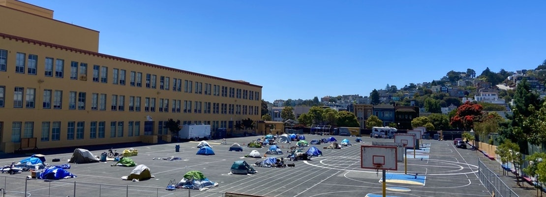 Castro's homeless tent village to close after just 5 weeks, despite positive feedback