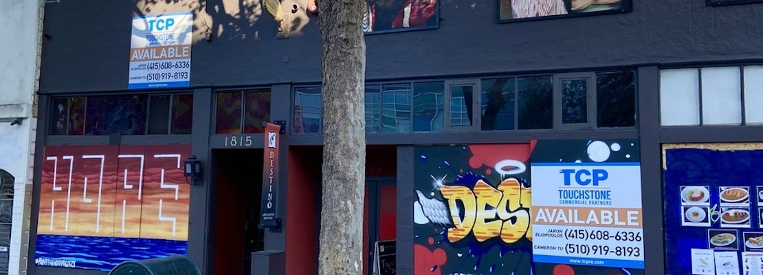 Latin bistro Destino closes, with sights set on new format & new Castro location