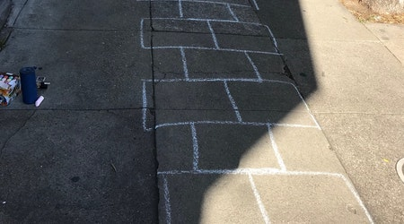 Hop to it: NoPa neighbors to attempt world-record hopscotch course on Saturday