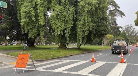 After weeks of delays, Fell Street bike lane construction now underway