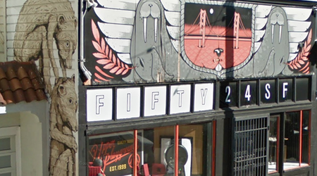 FIFTY24SF gallery closes, with building listed for sale; Upper Playground to remain open