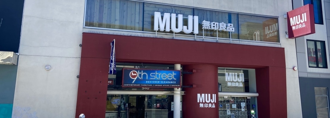 Japanese retailer Muji permanently closes all Bay Area stores