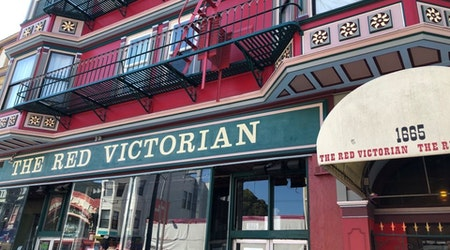 Drag in the age of social distancing: Red Vic debuts 'fish bowl' window shows