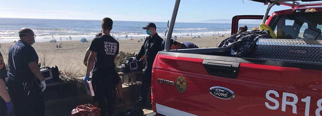 3 teenagers saved from drowning, among others rescued during busy Ocean Beach weekend