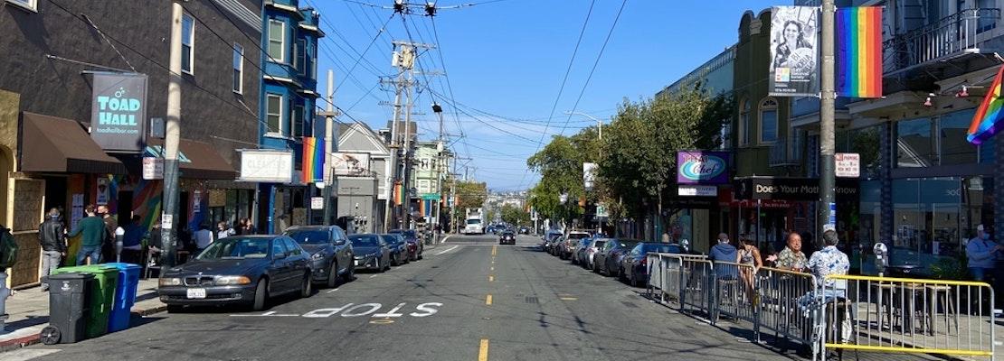 Castro stretch of 18th Street to go car-free on Sundays