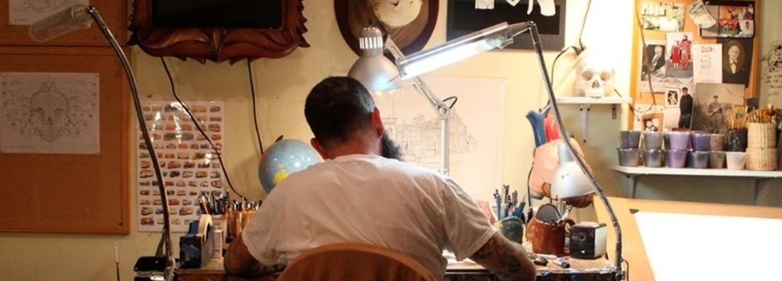 Jeremy Fish to move into Haight's historic Doolan-Larson home as inaugural artist-in-residence