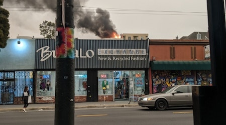 Waller Street 1-alarm fire sends smoke over Upper Haight, Cole Valley [UPDATED]