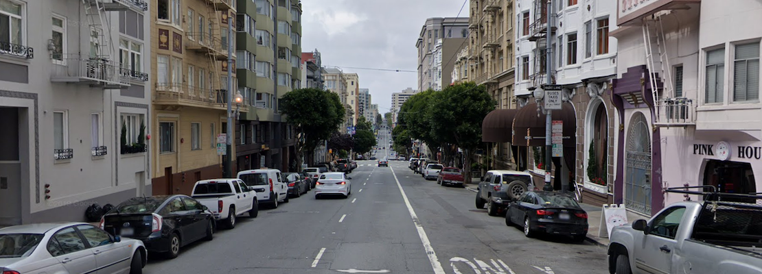 Man in life-threatening condition after being struck by driver in Lower Nob Hill