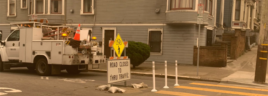 City seeks new solutions for protecting Slow Streets, after drivers plow through signs