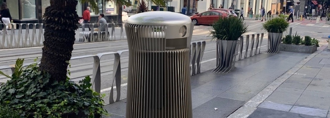 Public Works announces 3 finalists for SF's new trash can design