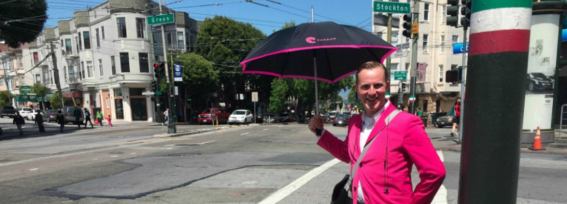 Who Are Those People In Pink? It's A New Valet Service