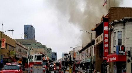 Oakland Eats: 5-alarm Chinatown fire damages 4 restaurants; S+M Vegan debuts Lion Dance Cafe; more