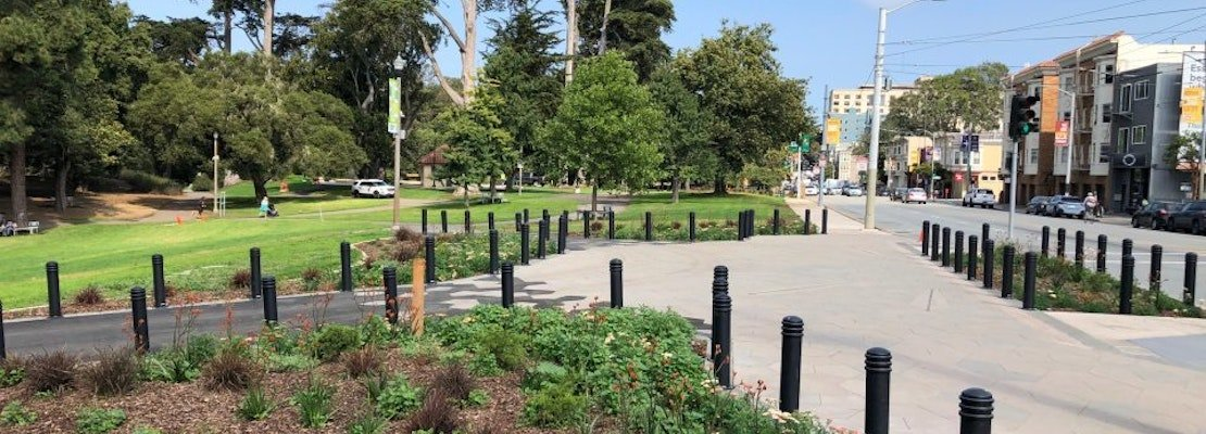 After years of planning, upgrades to Golden Gate Park's Stanyan entrance are finally complete