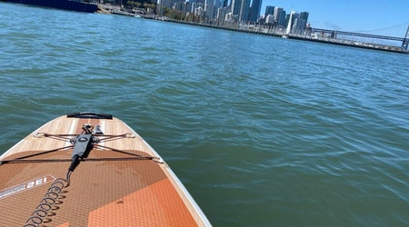 Dogpatch neighbors form 'paddle club' to break in new park