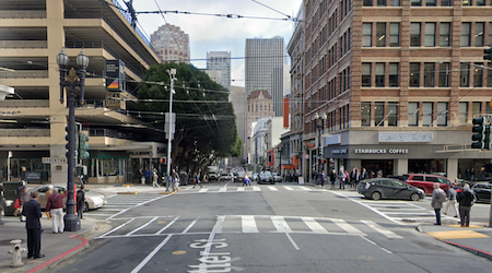 Pedestrian critically injured in hit-and-run near Union Square