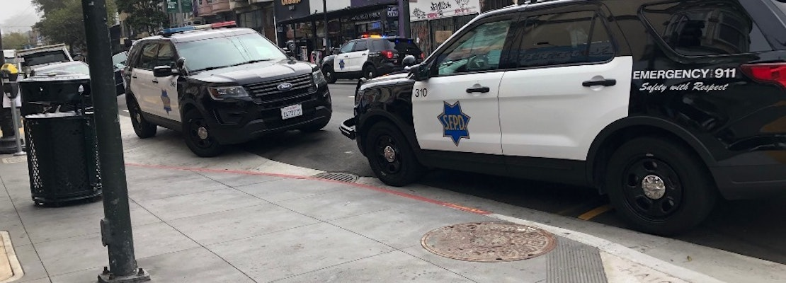 Presumed overdose inside car on Haight Street prompts emergency response, two hospitalized