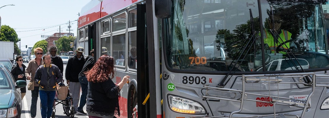 SoMa gets two new transit-only lanes to speed up service on the 19-Polk