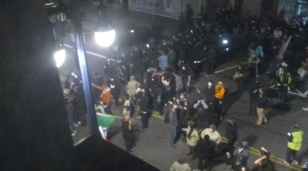 Peaceful protest to condemn SF police killing of 21-year-old carjacking suspect ends in Tenderloin