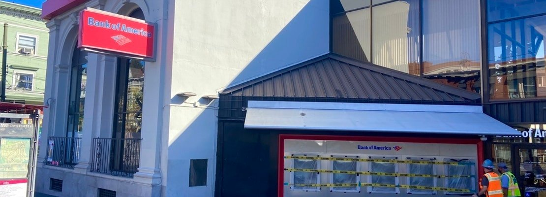 ATM screens smashed at both Bank of America and Wells Fargo branches in Castro [Updated]