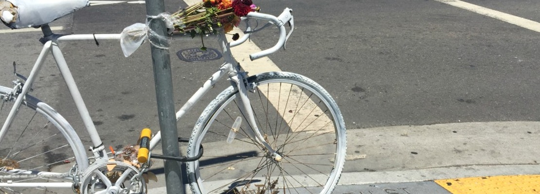 Mapping SoMa's Ghost Bike Memorials