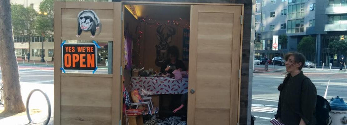 Studio 1, A Tiny Mobile Art Studio, Posts Up At 10th & Market