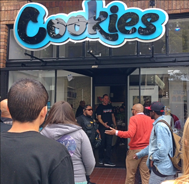 long lines at cookies store opening today long lines at cookies store opening today